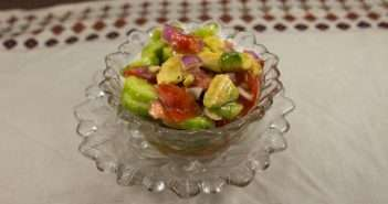 Marijuana Recipes - Avocado, TOmato, and Cucumber Salad