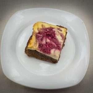 Marijuana Brownies - Raspberry Cheesecake Brownies