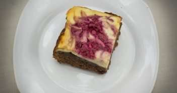 Marijuana Brownies - Raspberry Cheesecake Brownies