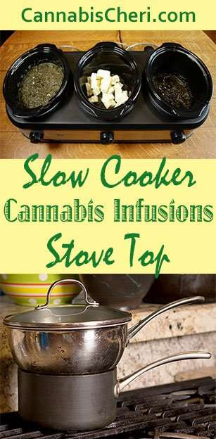 How to Make Marijuana Oil - Stovetop and Slow Cooker Methods