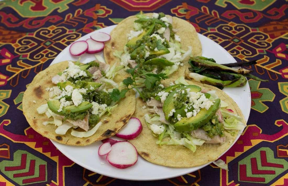 Marijuana Recipes - Grilled Fish Tacos with Ganja Green Chile Salsa