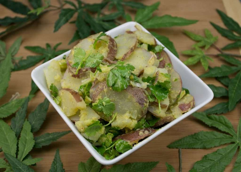 Marijuana Potato Salad: HERBed Red Potato Salad