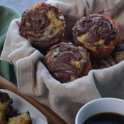 Marijuana Cupcakes: Orange Nutella Swirl Cannabis Cupcakes