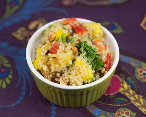 Marijuana and Mango Quinoa Salad
