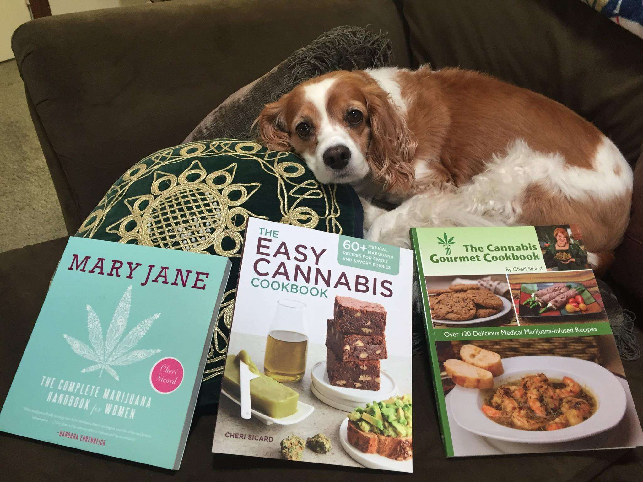 Cheri's Cannabis Books make great marijuana mother's day gifts