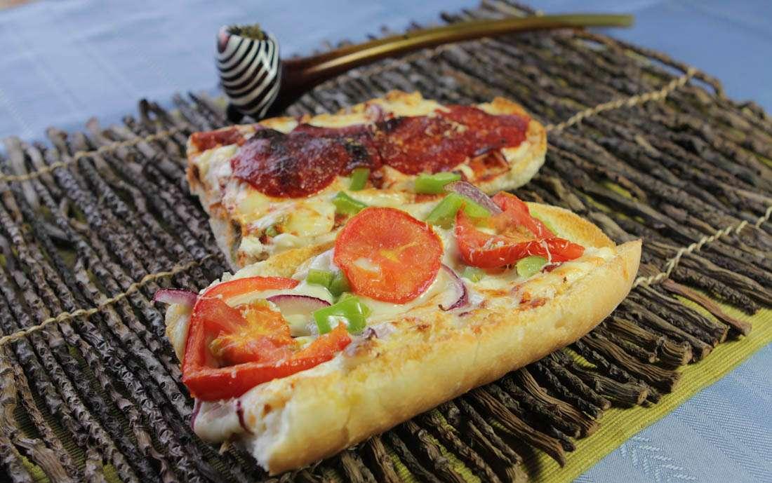 Marijuana Recipes - French Bread Pizza