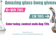 Enter our bong giveaway