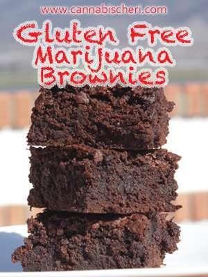 Recipe for Gluten Free Marijuana Brownies
