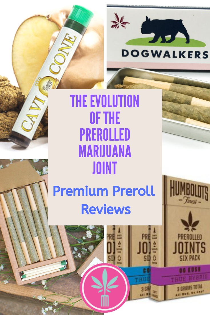 Premium Pre-rolled Marijuana Joints