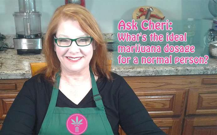 Cannabis Cheri Sicard on the optimal cannabis dose