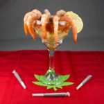 Marijuana Recipes - Retro Style Shrimp Cocktail