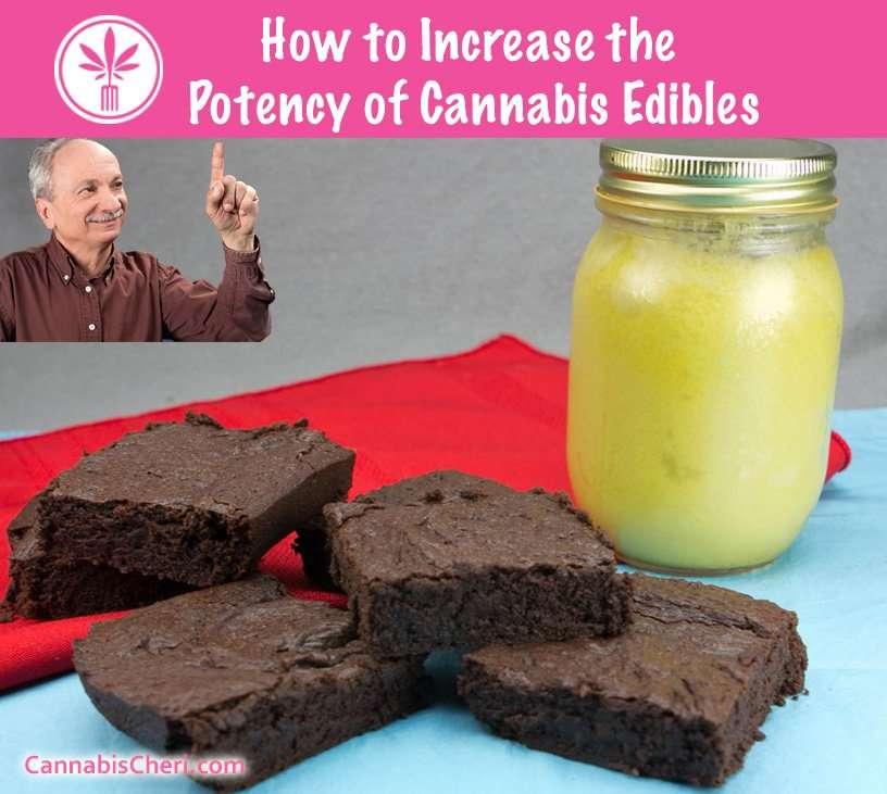 How to Increase the Potency of Marijuana Edibles