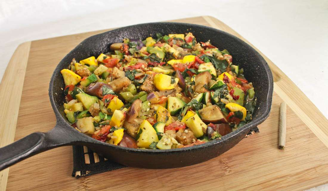 Marijuana Recipes: Cannabis Infused Radical Ratatouille