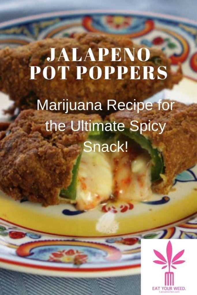 Marijuana Infused Jalapeno Popper