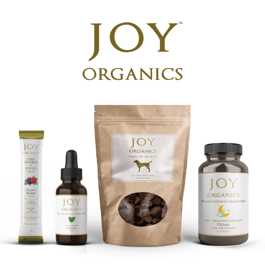 Joy Organics CBD Products