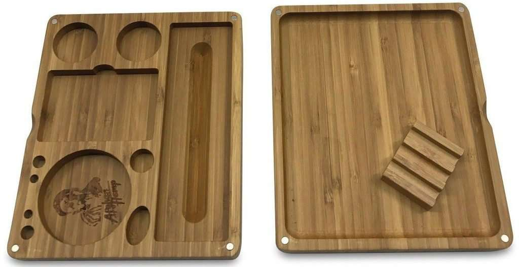 AFG Magnetic Bamboo Rolling Tray