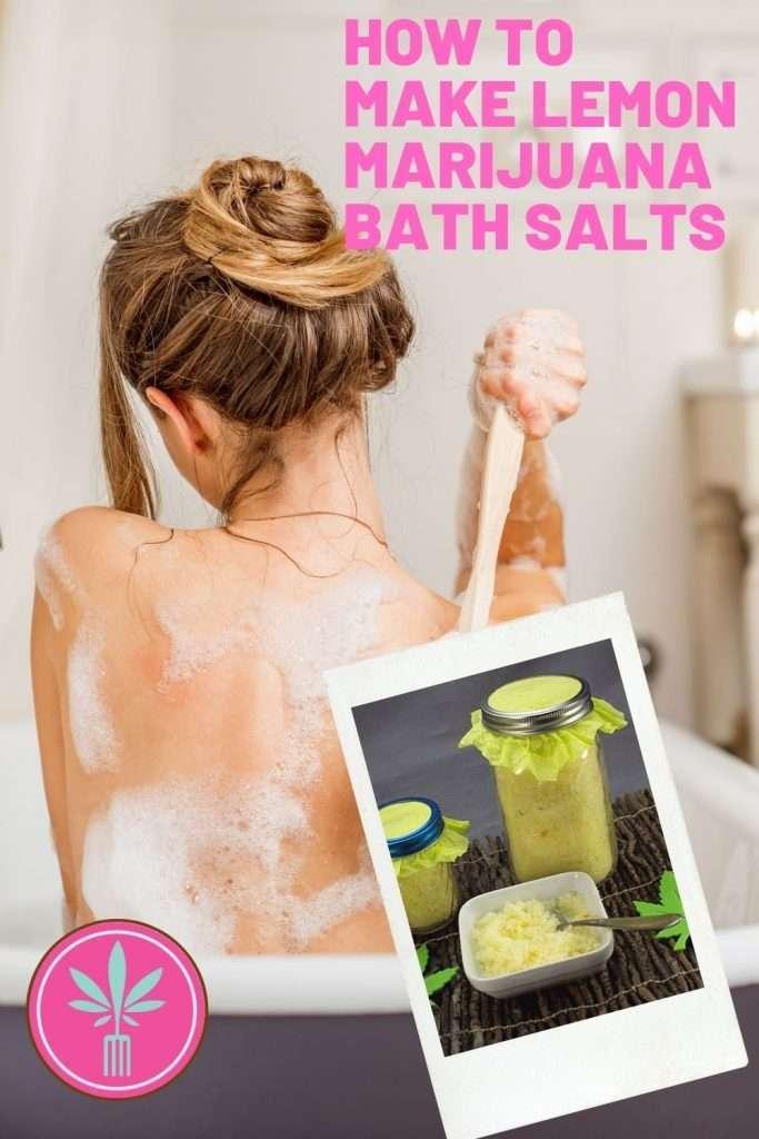 article title for DIY Marijuana Bath Salts
