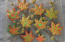 Ganja Gingerbread Cookies
