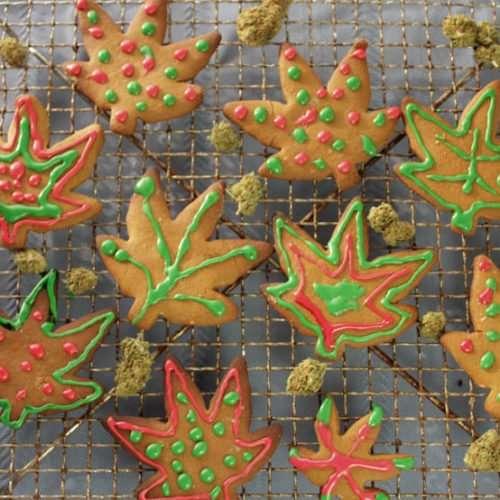 Ganja Gingerbread Cookies