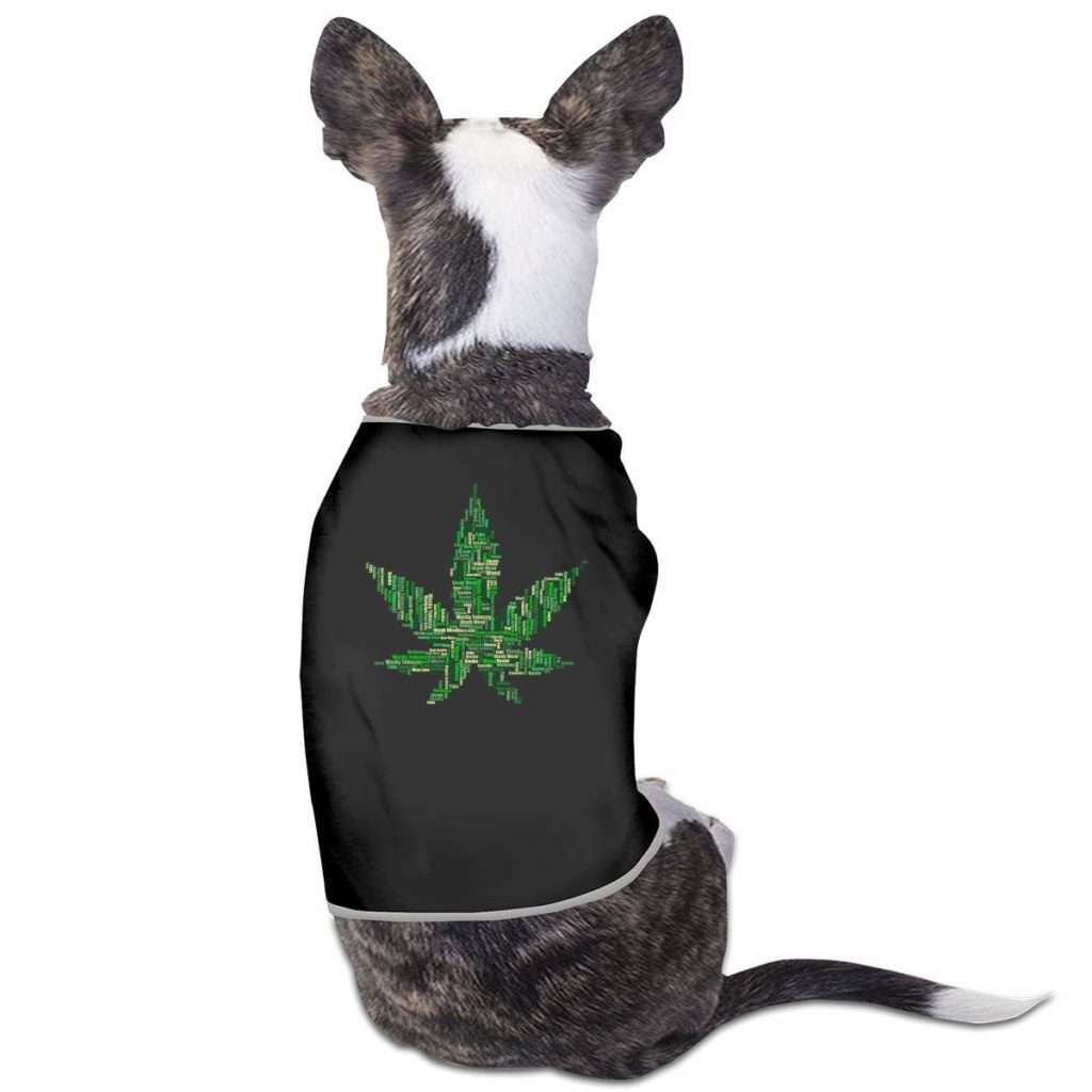 Marijuana Doggy T-Shirt