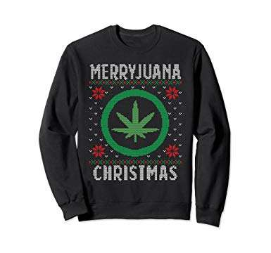 Merryjuana Christmas Ugly Sweater