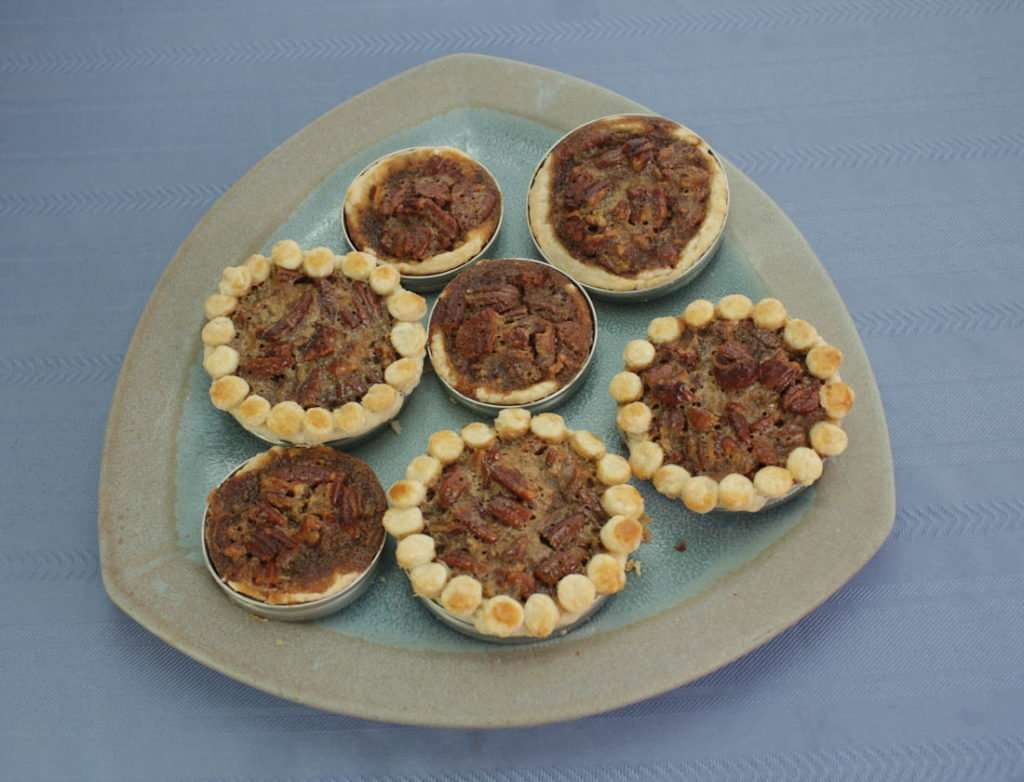 Marijuana Pecan Pie - Mini Pies Baked in Mason Jar Lids