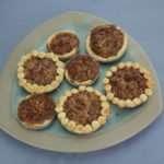 Marijuana Pecan Pie - Mini Pies Baked in Mason Jar Lids
