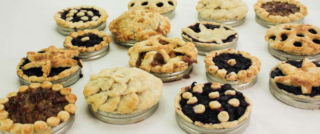Marijuana Pie Crusts for Mason Jar Lid Cannabis Pies
