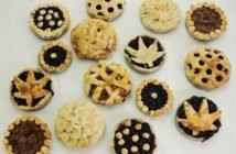mini marijuana pies baked in Mason Jar lids