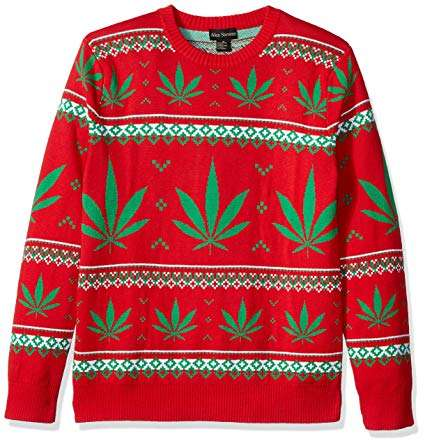 Marijuana Ugly Christmas Sweater