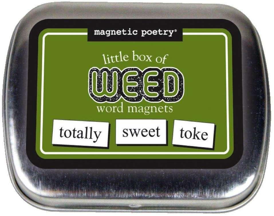 arijuana Magnetic Poetry