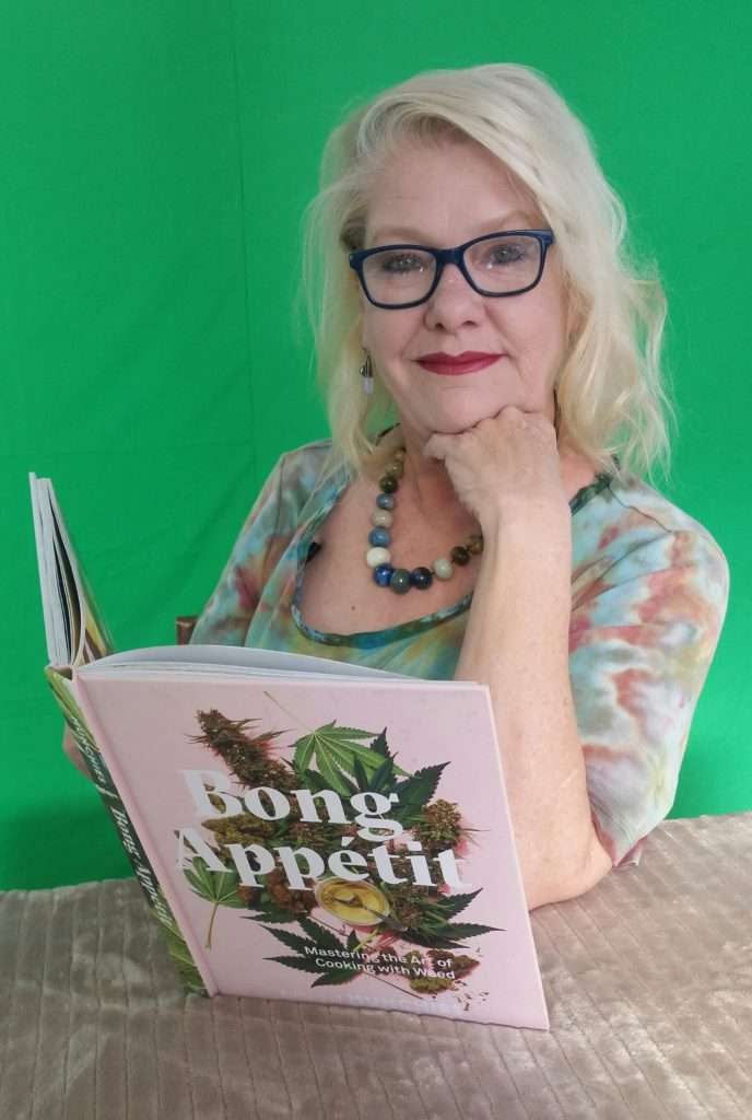 Cannabis CHeri Sicard with Bong Appetit Cookbook