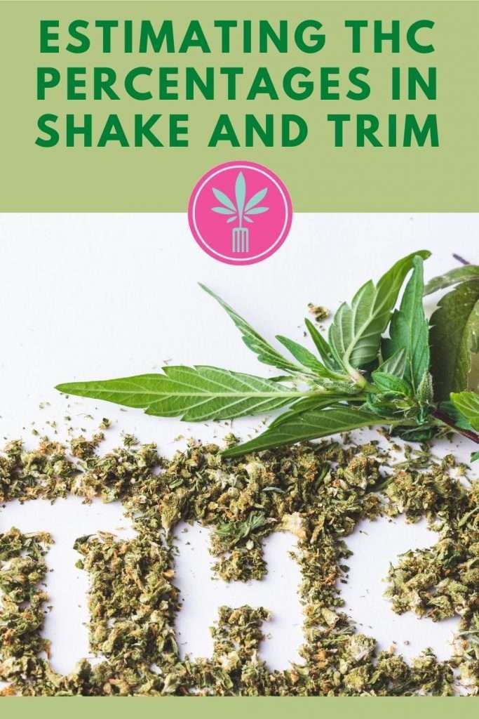 How to Estimate THC Percentages in Shake and Trim