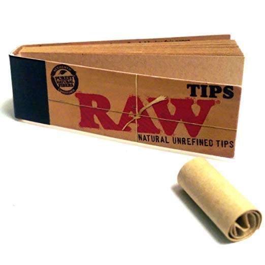 Marijuana Joint Filter Tips by Raw