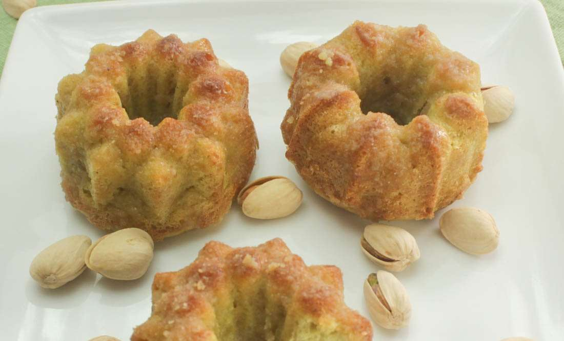 Marijuana Bundt Cake - Pistachio Irie Irish Cream Bundt Cakes