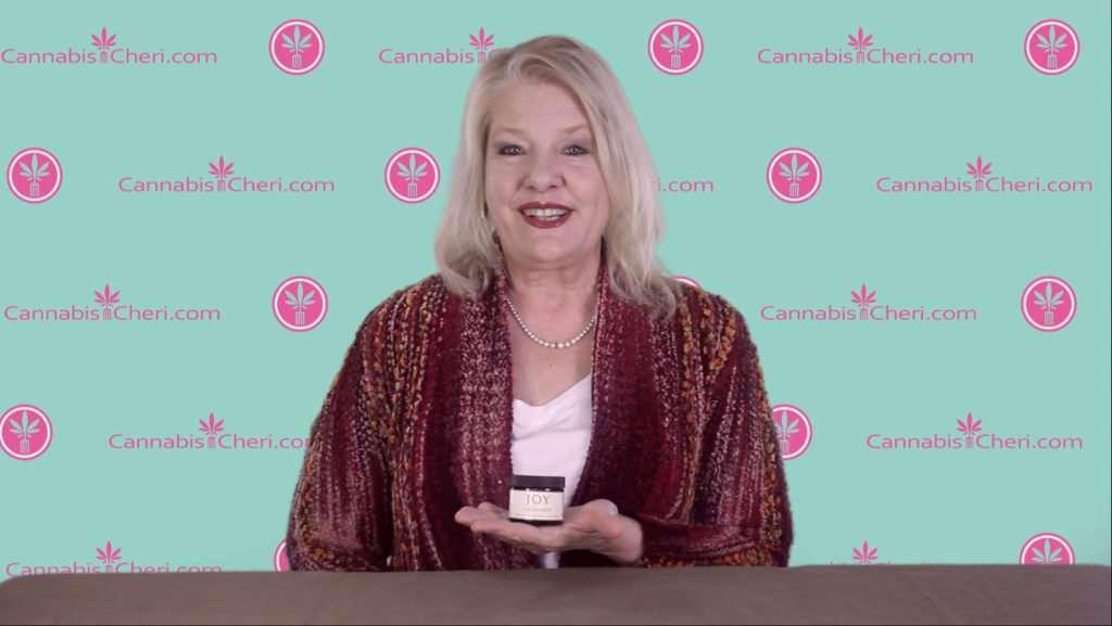 Cannabis Cheri Sicard reviews Joy Organics CBD Salve