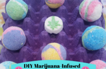 Marijuana Infused Bath Bombs