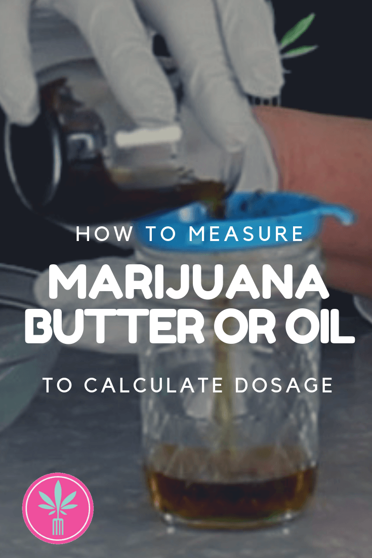 Measuring Marijuana Oil