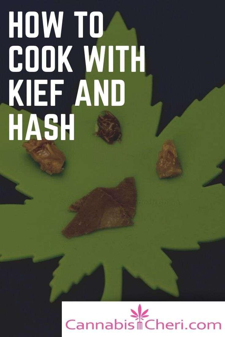 marijuana kief and hash