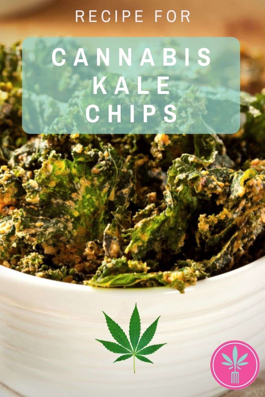 Marijuana Infused Kale Chips