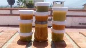 jars of marijuana infused healing salves