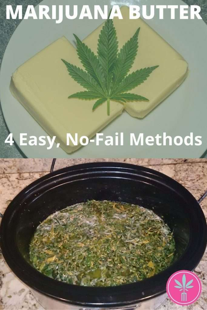Article title card for How to Make Marijuana Butter: 4 Easy Methodss