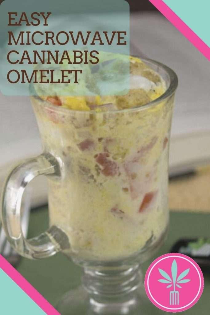 Microwave Marijuana Omelet in a Mug