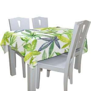 Shades of Green Pot Tablecloth