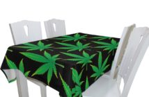 Marijuana Tablecloths and Runners: Pot Party Decor