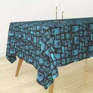 Blue Dream Marijuana Tablecloth