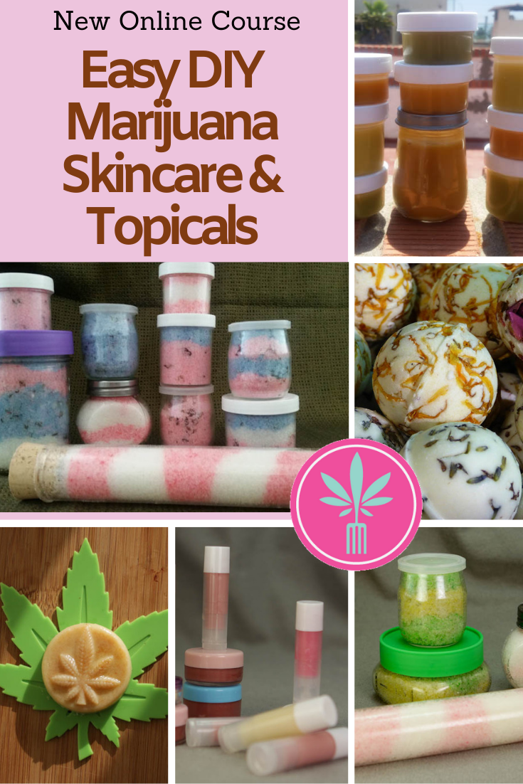 Marijuana infused skincare products