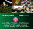 Black Friday Marijuana Course Promotion