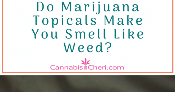 a nose, marijuana, and marijuana topical salves