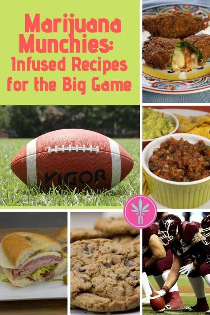 Marijuana Infused Recipes for Watching Football